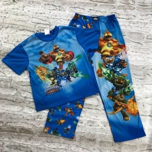 Other - Skylander Giants Pajama Set Size Large 10/12